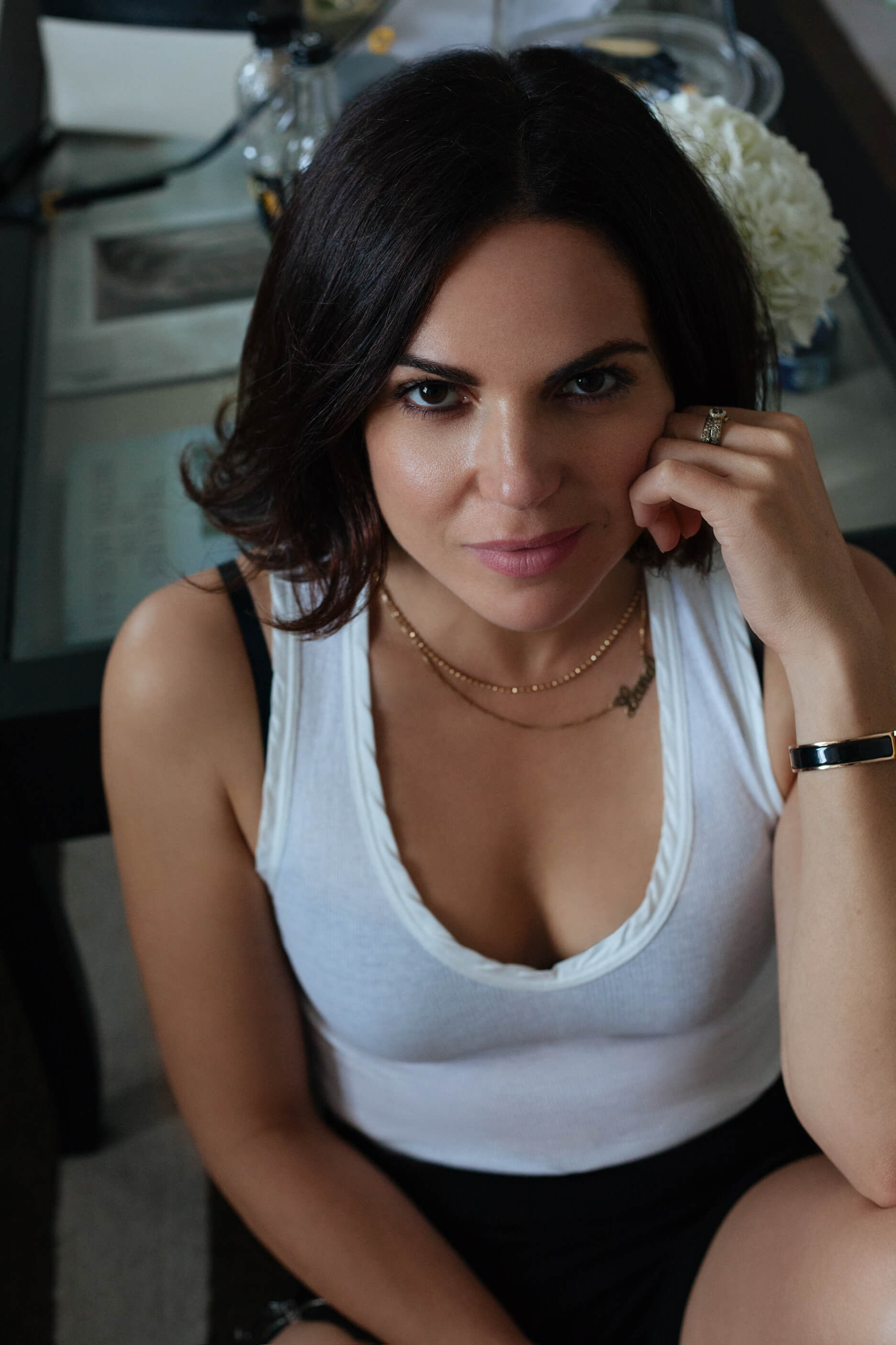 Photoshoot in London with Hollywood Star Lana Parrilla